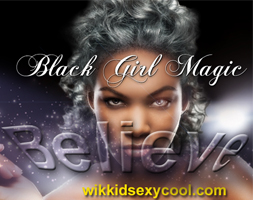 Blk girl magic icon