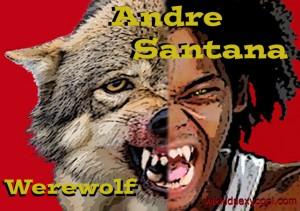 Andre Santana, a Werewolf featured in RAZHER