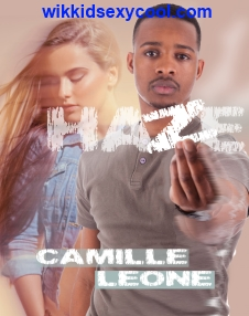 New Adult scifi HAZE mock up cover