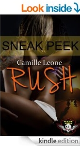 RUSH Sneak Peek excerpt on Amazon