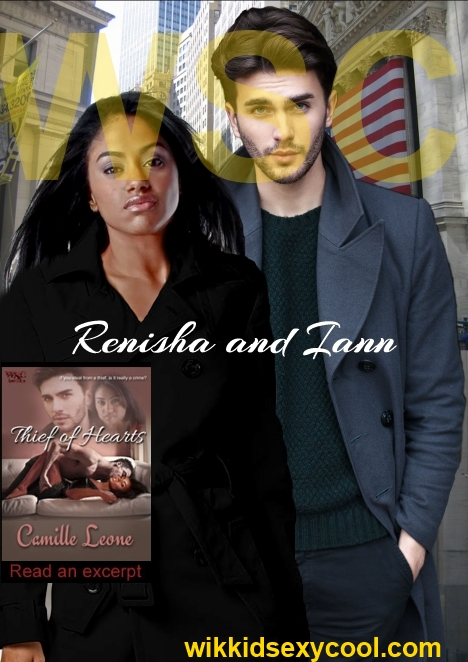 Renisha and Iann promo with text