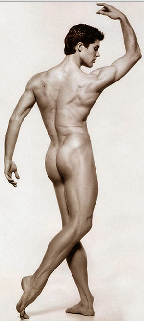 Italian ballet danseur Roberto Bolle of the American Ballet Theater