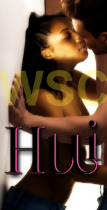 Hui and Imani kissing full body shot with effects added and watermark copy