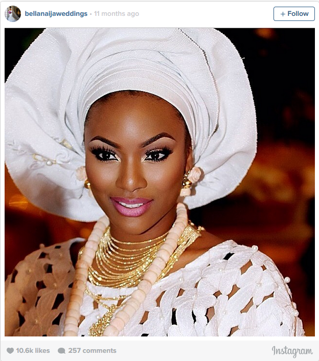 Flawless Nigerian bride