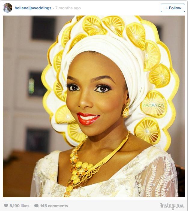 Nigerian bride 4