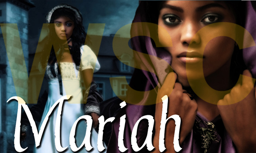 Mariah Harthorne, the lead character in a dark Gothic erotic romance