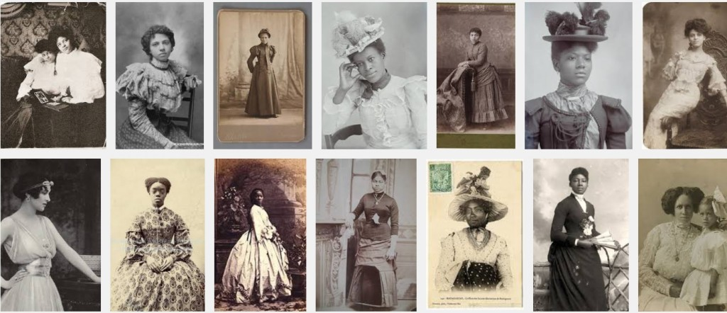 Victorian and Edwardian era black women
