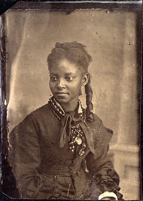 Young blk woman during Victorian Era
