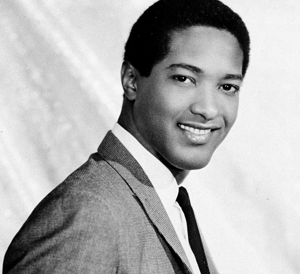 Boyishly handsome Sam Cooke