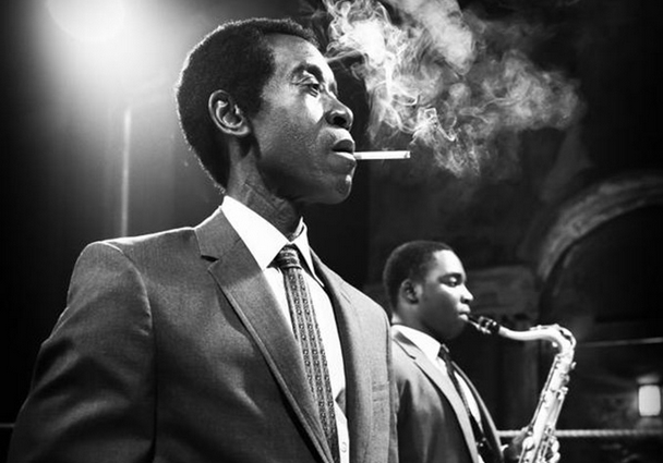 "Don Cheadle as Miles Davis in the film ""Miles Ahead"""