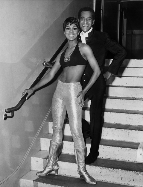 Lola Falana and Sammy Davis Jr