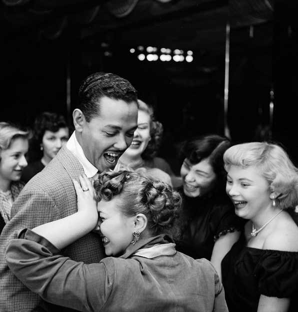 Popular band leader and singer Billy Eckstine