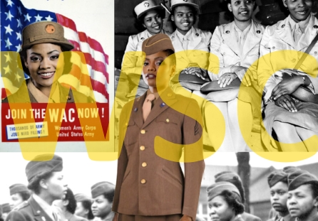 African American WAC during WW II