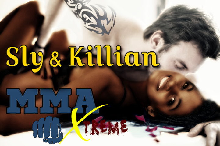 The Takedowns Killian and Sly in bed copy