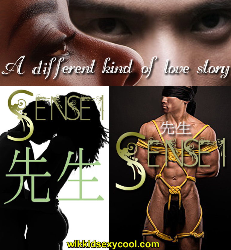 Nigerian born Nyesha and Tokyo native Takeski, from the erotic romance SENSEI