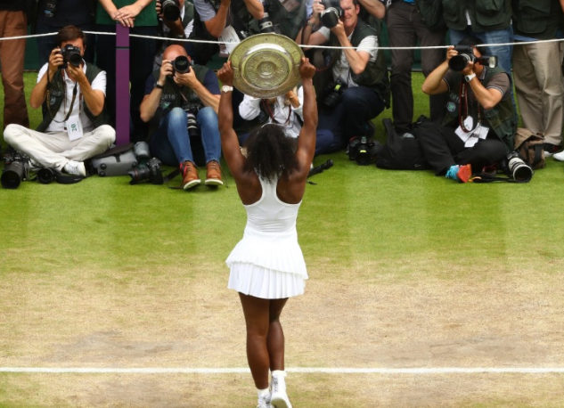 Serena Williams wins the 2016 Ladies Wimbledon Singles Title_Photo by Julian Finney_Getty Images