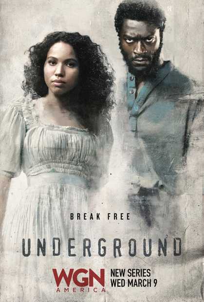 Aldis Hodge in Underground