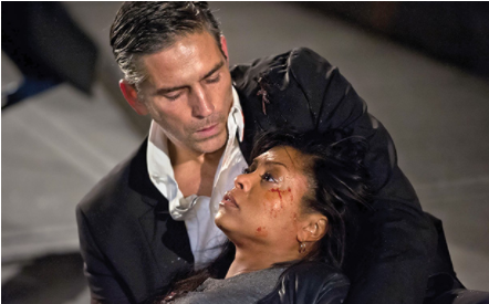 Taraji death scene on Person of Interest