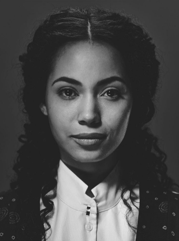 Veil, portrayed by actress Madeleine Mantock