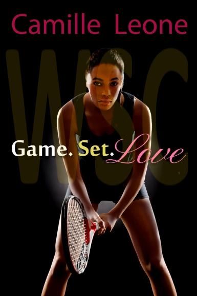 Sinead Landon holding tennis racquet