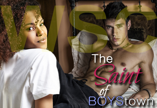 Pictured: Nathalie Childress and Tanner Joseph, from the IR romance The Saint of BOYStown