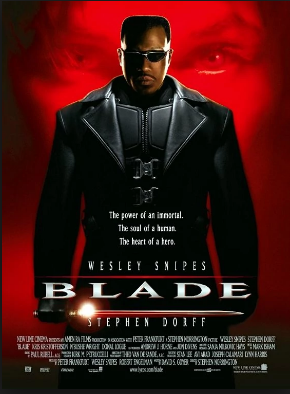 Blade promo poster